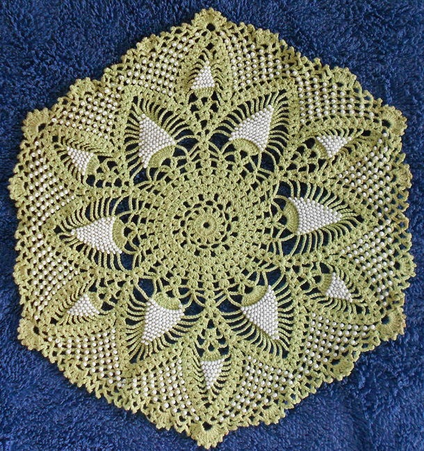Free Crochet Patterns For Doilies With Beads Dancox For
