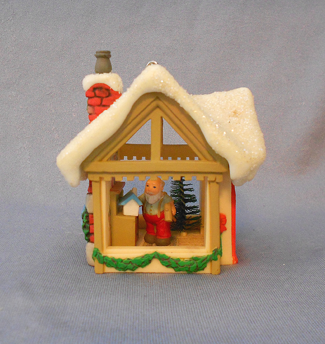 Santa's Workshop' Vintage Hallmark Christmas Ornament in X-SOLD ...