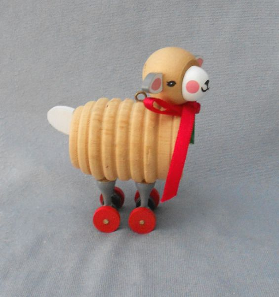 1984 Wood Child Ornaments 1: 'Wooden Lamb' Vintage ...