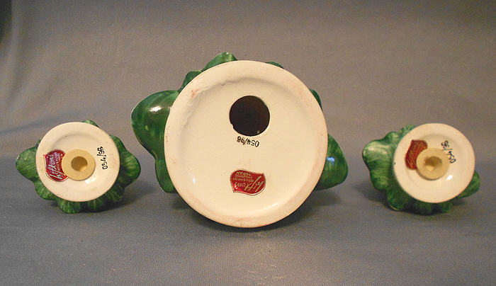 1950s Vintage Lefton Salt Pepper And Hors D Oeuvres