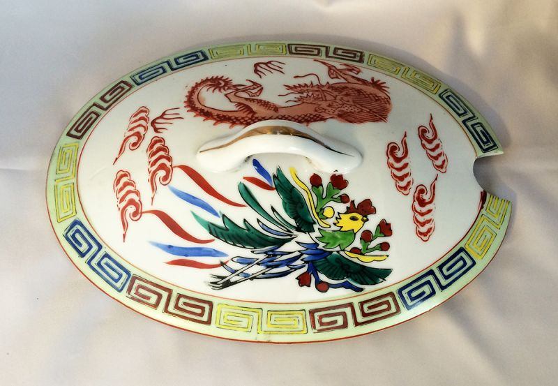 1920s 1940s Vintage Chinese Japanese Restaurant Ware