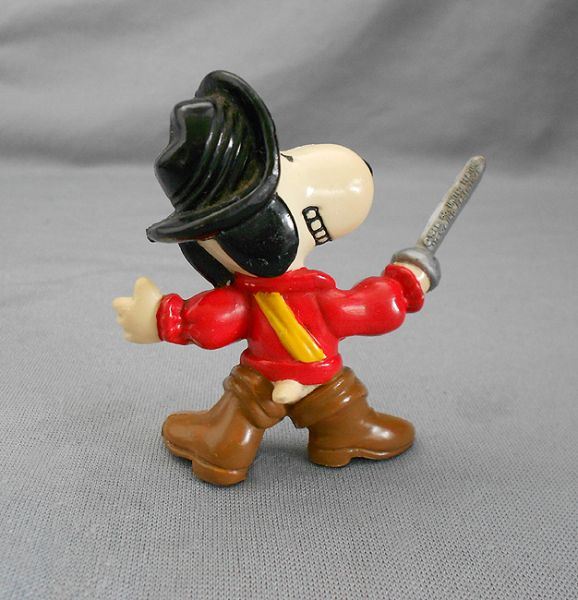 1966 Vintage Snoopy Toy United Feature Snoopy Pirate Toy