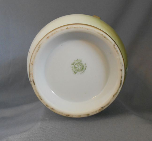 1910s 1920s Antique Nippon Art Deco Hand Painted Orchid