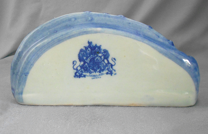 Vintage Victoria Ware Blue Ironstone Bamboo Wall Pocket In X Sold Gallery