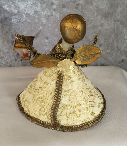 1950s Vintage German Koestel Wax Head Angel Christmas Tree Topper In X Sold Gallery