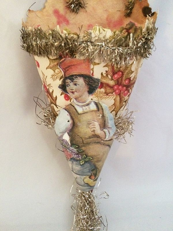 Antique Victorian Paper Candy