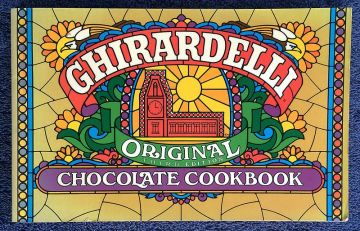 1991 Vintage Cookbook 'Ghirardelli Original Chocolate Cookbook' in cookbooks