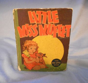 1936 'Little Miss Muffet' Vintage Big Little Book Series in big little books